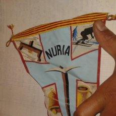 Coleccionismo deportivo: BANDERÍN NURIA. Lote 43289452