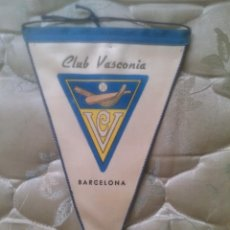 Coleccionismo deportivo: CLUB VASCONIA DE BARCELONA. PELOTA VASCA. Lote 45976422