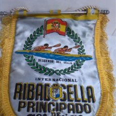 Coleccionismo deportivo: DESCENSO DEL SELLA ANTIGUO BANDERIN. Lote 48271648