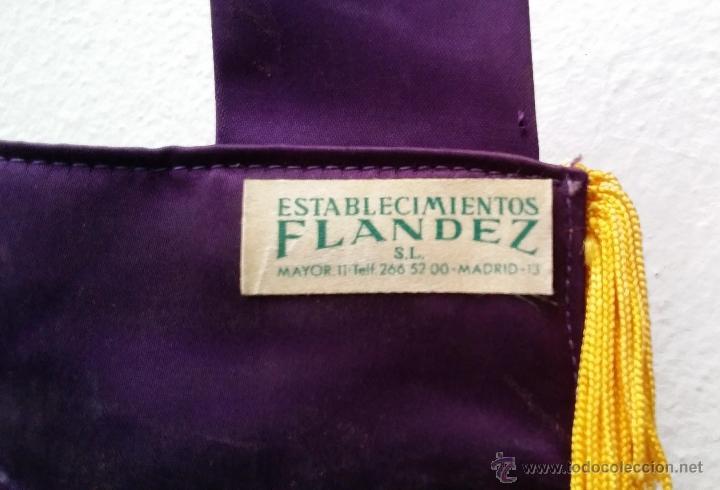 Coleccionismo deportivo: GRAN BANDERIN BORDADO, 5º CAMPEONATO NACIONAL DE CAJAS DE AHORROS, MADRID 29-V-77, mide 57x41 cnts - Foto 4 - 53481144