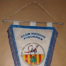 Coleccionismo deportivo: BANDERÍN DEL CLUB NATACIÓ FIGUERES . Lote 50297266
