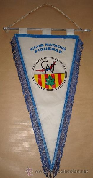 Coleccionismo deportivo: BANDERÍN DEL CLUB NATACIÓ FIGUERES - Foto 4 - 50297266