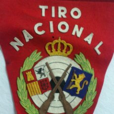 Coleccionismo deportivo: BANDERIN: ORIGINAL TIRO NACIONAL - ZARAGOZA (TIPO FIELTRO). Lote 51971780