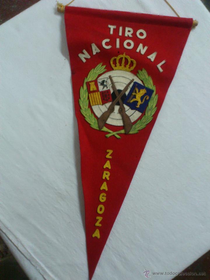 Coleccionismo deportivo: BANDERIN: ORIGINAL TIRO NACIONAL - ZARAGOZA (TIPO FIELTRO) - Foto 2 - 51971780
