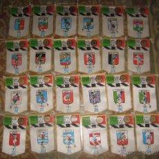 Coleccionismo deportivo: INTERESANTE LOTE 24 BANDERINES OLIMPIADA MEXICO 1968 PUBLICIDAD DE GIOR. Lote 53890156