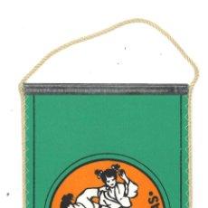 Coleccionismo deportivo: BANDERÍN DE JUDO DE LITUANIA. Lote 54286999
