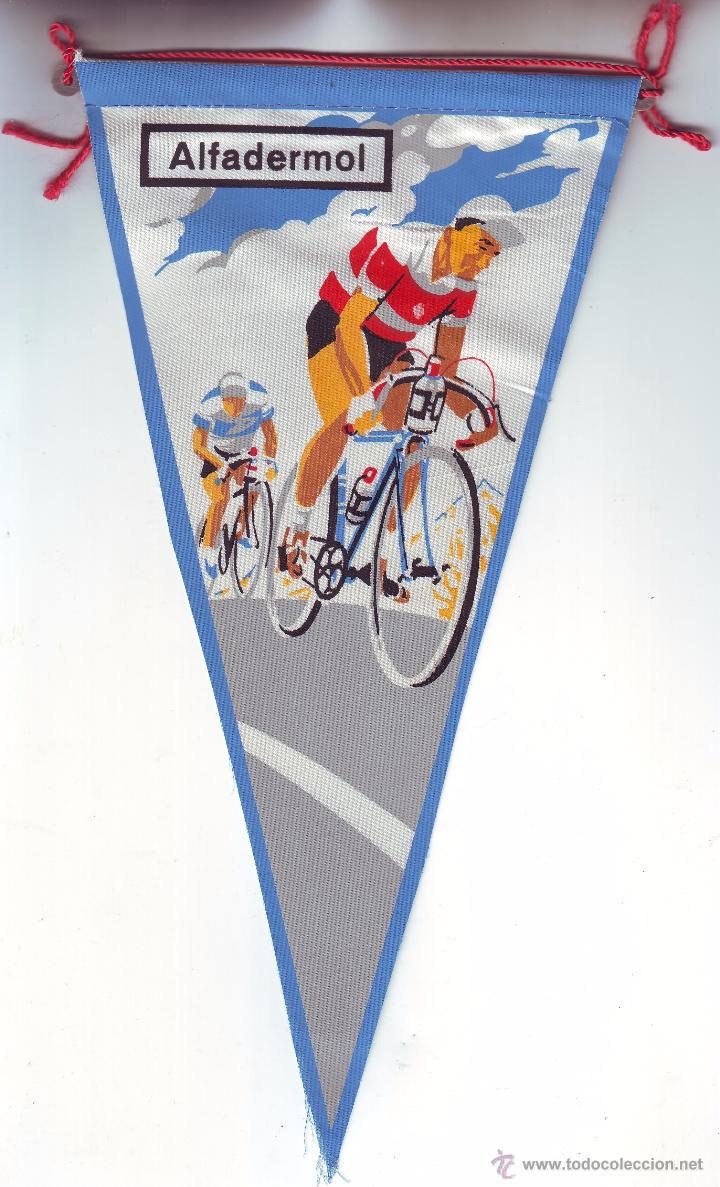 BANDERIN CICLISMO (Coleccionismo Deportivo - Banderas y Banderines otros Deportes)