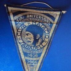 Coleccionismo deportivo: (F-1437)BANDERIN DEL CLUB NATACIO SABADELL , 50º ANIVERSARI , 1916-1966. Lote 56034564