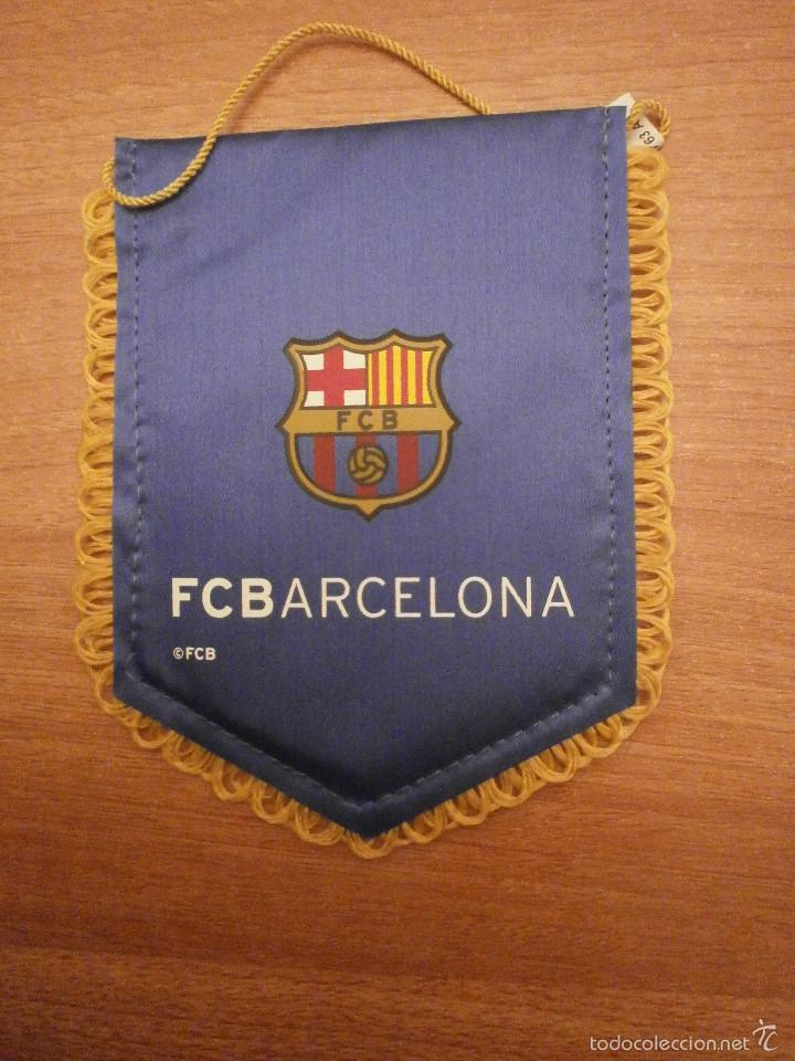 BANDERIN. F.C.BARCELONA (Coleccionismo Deportivo - Banderas y Banderines otros Deportes)