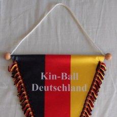 Coleccionismo deportivo: BANDERÍN KIN-BALL ALEMANIA DEUTSCHLAND. Lote 57445254