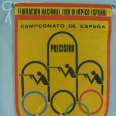 BANDERIN : CAMPEONATO DE ESPAÑA DE TIRO PRECISION . MONTREAL, 1976