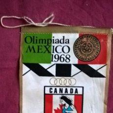 Coleccionismo deportivo: CANADA. OLIMPIADA DE MÉXICO. GIOR. Lote 58546966