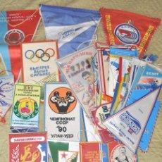 Coleccionismo deportivo: LOTE .69 BANDERINES DEPORTIVOS .URSS.UCRANIA .POLONIA .UZBECISTAN ... Lote 64447051