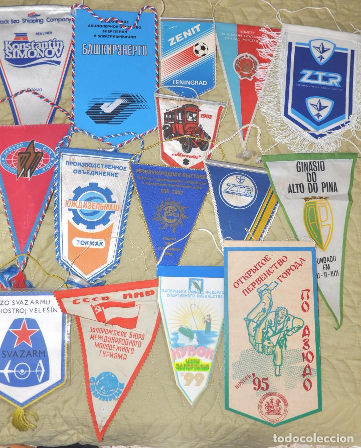 Coleccionismo deportivo: Lote .69 Banderines deportivos .URSS.Ucrania .Polonia .Uzbecistan .. - Foto 3 - 64447051