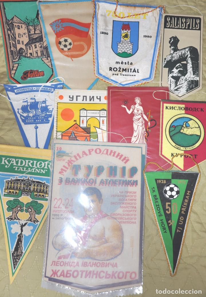 Coleccionismo deportivo: Lote .69 Banderines deportivos .URSS.Ucrania .Polonia .Uzbecistan .. - Foto 5 - 64447051
