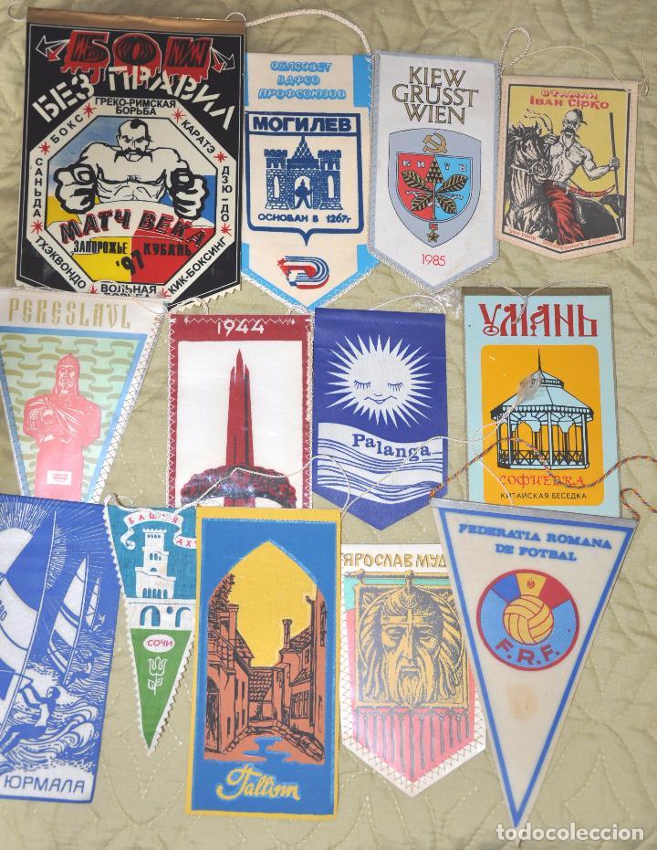 Coleccionismo deportivo: Lote .69 Banderines deportivos .URSS.Ucrania .Polonia .Uzbecistan .. - Foto 6 - 64447051