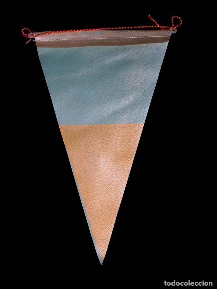 Coleccionismo deportivo: Banderín tela, Día del Baloncesto, Basket, FCB Federación Catalana, 15 Junio de1968. - Foto 2 - 69653085