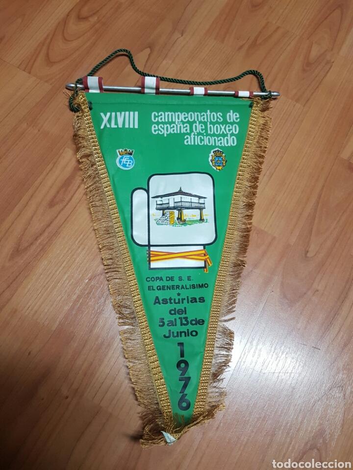 CAMPEONATO BOXEO ASTURIAS (Coleccionismo Deportivo - Banderas y Banderines otros Deportes)