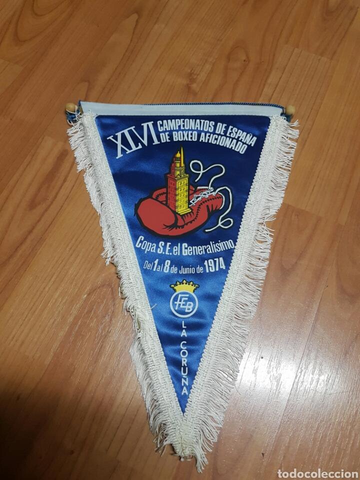 BOXEO LA CORUÑA (Coleccionismo Deportivo - Banderas y Banderines otros Deportes)