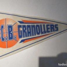 Coleccionismo deportivo: BANDERIN BALONCESTO - C. B . GRANOLLERS.. Lote 75507499