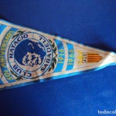 Coleccionismo deportivo: (F-170234)BANDERIN 50 ANIVERSARI CLUB NAUTICO SABADELL , 1916 - 1966. Lote 77574985