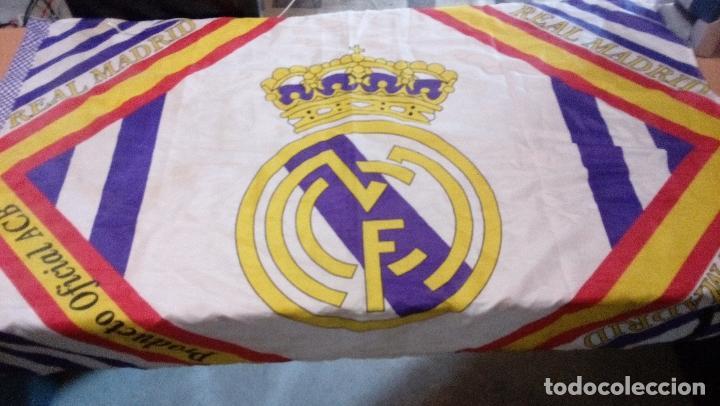BANDERA REAL MADRID - PRODUCTO OFICIAL ACB - TAMAÑO 150 X 100 CENTIMETROS (Coleccionismo Deportivo - Banderas y Banderines otros Deportes)