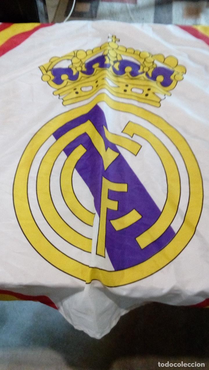 Coleccionismo deportivo: bandera real madrid - producto oficial acb - tamaño 150 x 100 centimetros - Foto 4 - 77756565