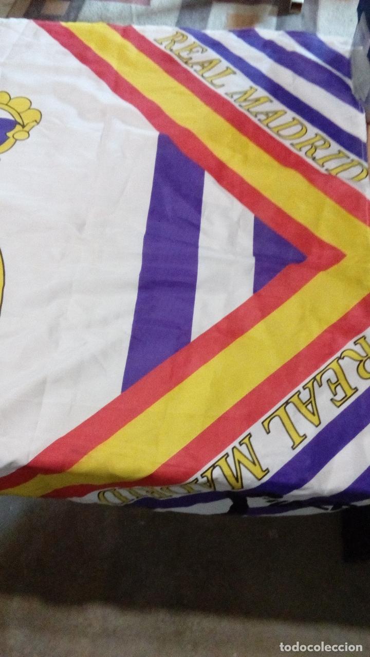 Coleccionismo deportivo: bandera real madrid - producto oficial acb - tamaño 150 x 100 centimetros - Foto 6 - 77756565