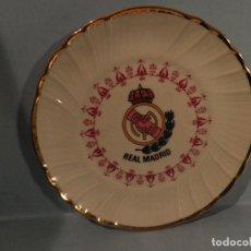 Coleccionismo deportivo: PEQUEÑO PLATO REAL MADRID ,17 CM DIAMETRO - VI-RE - MHOI-XENT, --IRABIA. Lote 82796336