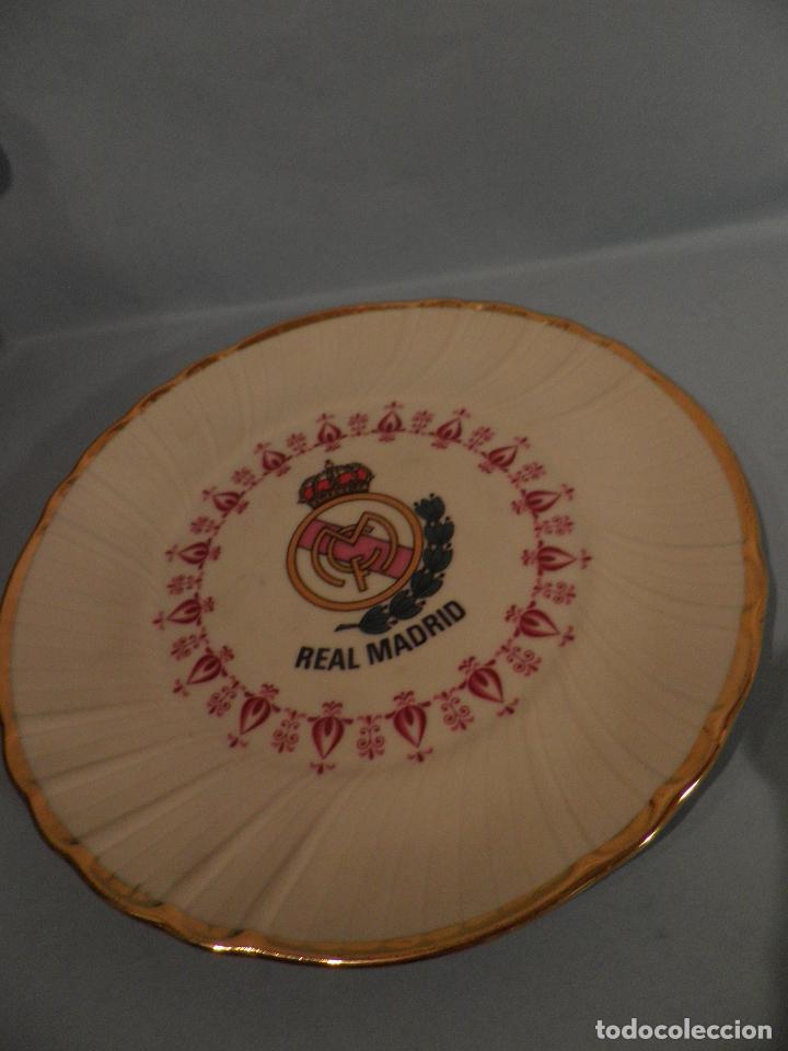 Coleccionismo deportivo: PEQUEÑO PLATO REAL MADRID ,17 CM DIAMETRO - VI-RE - MHOI-XENT, --IRABIA - Foto 2 - 82796336