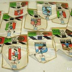Coleccionismo deportivo: 12 BANDERINES OLIMPIADA MEXICO 1968 OBSEQUIO GIOR,ESPAÑA,GRAN BRETAÑA,URSS,EEUU,GRECIA,ITALIA,...... Lote 85933016