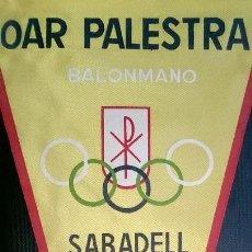 Coleccionismo deportivo: OAR PALESTRA BALONMANO DE SABADELL AÑOS 50. Lote 87086540