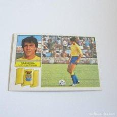 Coleccionismo deportivo: EDICIONES ESTE. LIGA 82-83. NUEVO. SAAVEDRA, U.D. LAS PALMAS. Lote 88129932