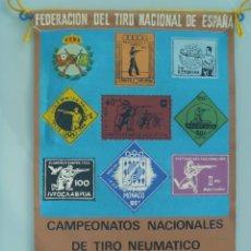 Coleccionismo deportivo: BANDERIN : CAMPEONATOS NACIONALES TIRO NEUMATICO . MADRID , 1965.. Lote 90118584