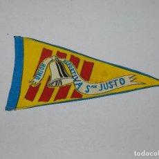 Coleccionismo deportivo: (M) BANDERIN CICLISMO - UNION DEPORTIVA SAN JUSTO. Lote 90409099