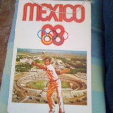 Coleccionismo deportivo: BANDERIN MEXICO 1968 BIMBO. Lote 95016398