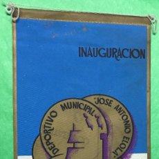 Coleccionismo deportivo: RARO BANDERÍN INAUGURACIÓN COMPLEJO DEPORTIVO MUNICIPAL - SANTANDER - AÑO 1969. Lote 96718719