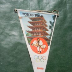 Coleccionismo deportivo: BANDERIN, BIMBO, JUEGOS OLIMPICOS Nº 15 TOKIO 1964 - AÑO 1968. Lote 96833259
