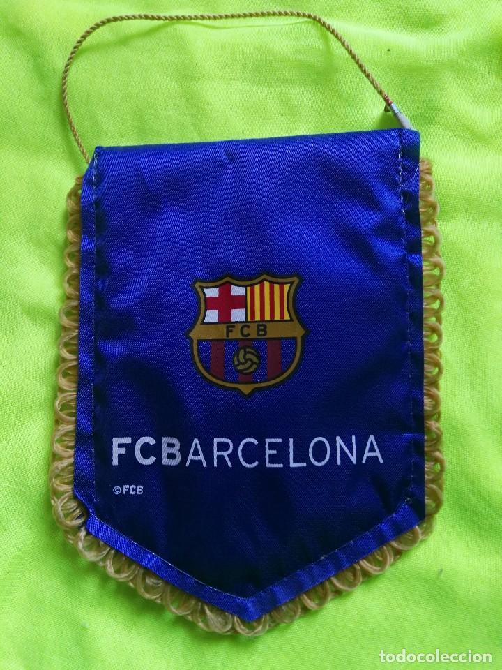 BANDERÍN OFICIAL FÚTBOL CLUB BARCELONA BARÇA (Coleccionismo Deportivo - Banderas y Banderines otros Deportes)