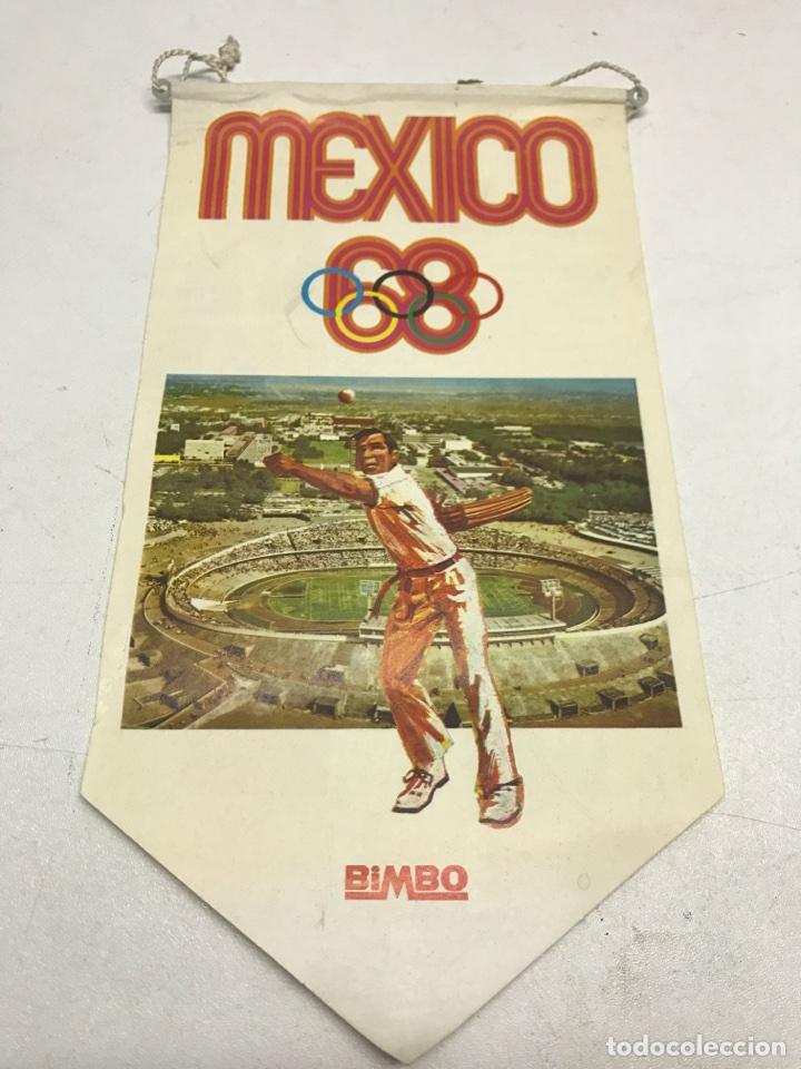 BANDERIN MEXICO 1968. BIMBO (Coleccionismo Deportivo - Banderas y Banderines otros Deportes)