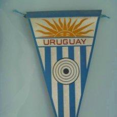 Coleccionismo deportivo: BANDERIN : FEDERACION NACIONAL DE TIRO OLIMPICO DEL URUGUAY.. Lote 105724827