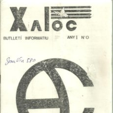 Coleccionismo deportivo: 1092.-EXCURSIONISME-MUNTANYA-XALOC Nº 0 ANY I MARÇ 1983-CENTRE EXCURSIONISTA ABRERA. Lote 112246919