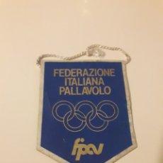 Coleccionismo deportivo: BANDERIN FEDERAZIONE ITALIANA PALLAVOLO VOLLEYBALL PEQUEÑO. Lote 114261836