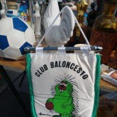 Coleccionismo deportivo: ANTIGUO BANDERIN AÑOS 90 CLUB BALONCESTO NUNKI OLIVA DE LA FRONTERA. Lote 115363215