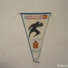Coleccionismo deportivo: BANDERÍN DE LOS II JUEGOS IBEROAMERICANOS. MADRID 1962.. Lote 115939559