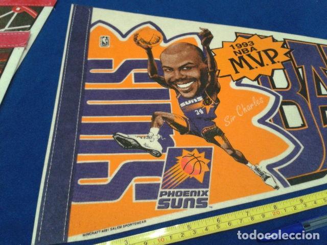 Coleccionismo deportivo: BANDERIN MADE IN USA 77 CM ORIGINAL ( SIR CHARLES BARKLEY M.V.P. 1993 NBA ) PHOENIX SUNS - Foto 5 - 116875587