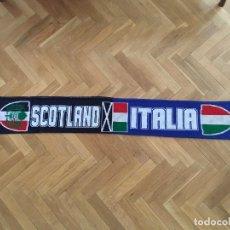 Coleccionismo deportivo: BUFANDA RUGBY 6 NACIONES RBS ESCOCIA ITALIA. Lote 117956915
