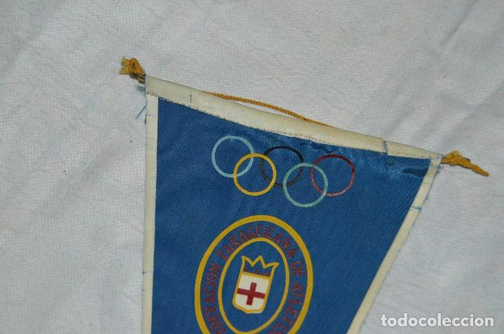 Coleccionismo deportivo: VINTAGE - ANTIGUO BANDERÍN DEPORTIVO - XXVI CAMPEONATO ESPAÑA MARATHON - 1960 - JOYA - HAZ OFERTA - Foto 2 - 118189419
