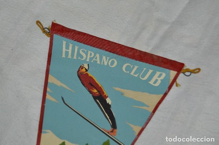 Coleccionismo deportivo: VINTAGE - ANTIGUO BANDERÍN DEPORTIVO - HISPANO CLUB - 1960 1961 - JOYA - HAZ OFERTA - Foto 2 - 118189599