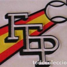 Coleccionismo deportivo: LOTE 8 BANDERIN BANDERINES FEDERACION ESPAÑOLA DE PELOTA,EL FRONTON EN LA OLIMPIADA . Lote 118220579